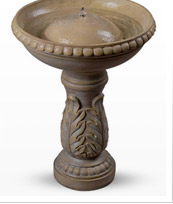 Acanthus Birdbath Fountain