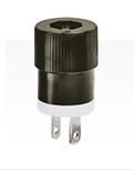 Straight Blade Plug 15A 125V
