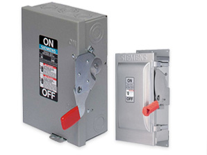 Non-Fused Safety Switches