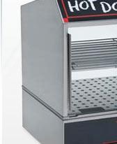 Nemco® Hot Dog Steamers
