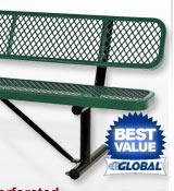 Premium All Steel Metal Mesh Benches