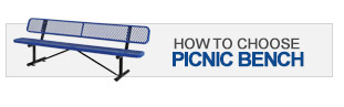 How to choose a picnic bench