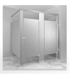 Overhead-Braced Stainless Steel