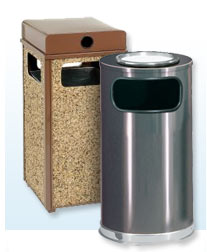 Ash & Trash Cans