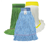 Looped-End Mop Heads