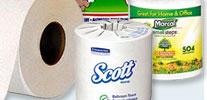 Toilet Tissue & Paper