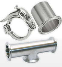 Sanitary Stainless steel Fittings