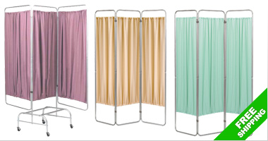 Save 10% on select Omnimed Patient Privacy Screens & Panels