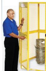 Cyliner Storage Cabinets