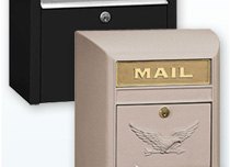 Residential Wall and Post Mount Mailboxes