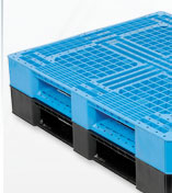 Double Faced Stackable Plastic Pallets