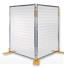 Outdoor Security Partitions