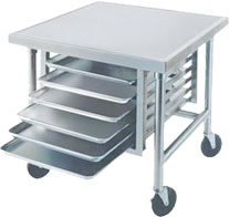 Mobile Stainless Steel Table