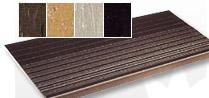Vinyl Stair Treads with Rib Pattern
