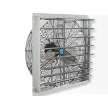 Exhaust Fans With Shutter Mount