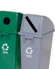 Global Plastic Waste & Recycling Containers