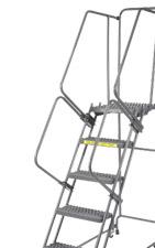 Industrial Rolling Steel Ladders