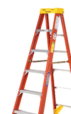 Industrial Rolling Steel Ladders