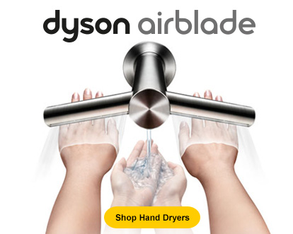 Dyson Air Blades - shop hand dryers