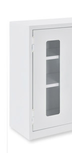 Global Clear View Utility Wall Mount Cabinets