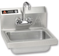 Stainless Steel Sink w/Faucet