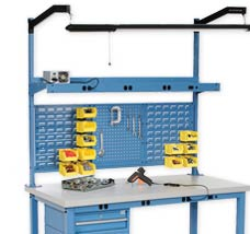Heavy Duty Height Adjustable Production Bench