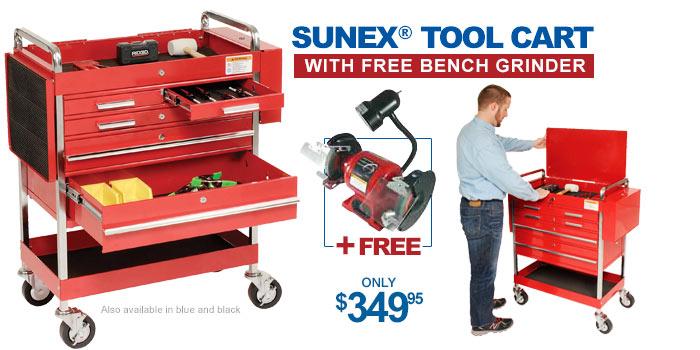 Sunex® Tool Cart - only $349.95