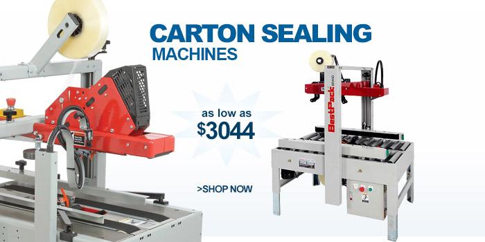 Carton Sealing Machines - as low as $3044