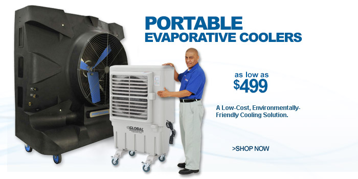 Portable Evaporative Coolers - as low as $499