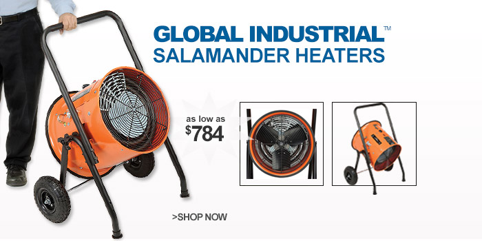 Global™ Portable Electric Salamander Heaters  - as low as $784