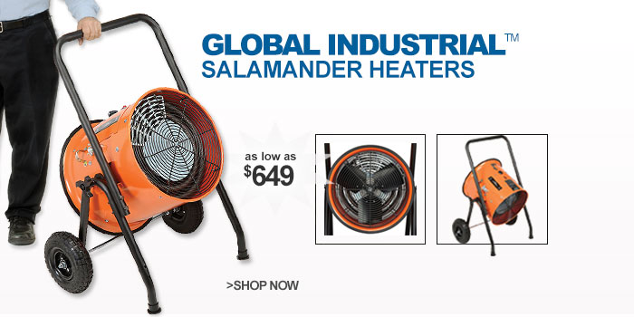 Global™ Portable Electric Salamander Heaters  - as low as $649