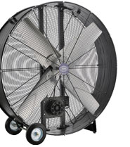 Industrial Drum and Blower Fans