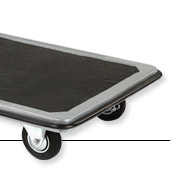 Folding Platform Truck With Solid Steel Deck