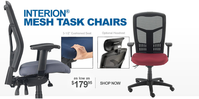 Mesh Office Chairs - as low as $179.95