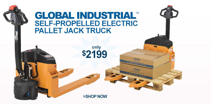 Electric Pallet Jack Truck - only $2199