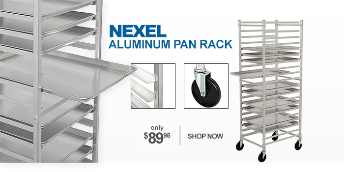 Nexel Aluminum Pan rack - only $89.95