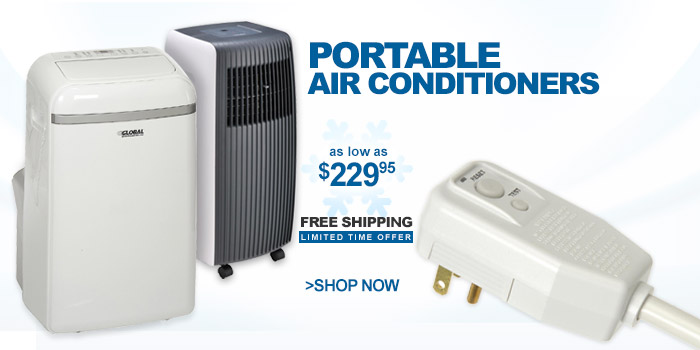 Portable Air Conditioners - as low as $229.95