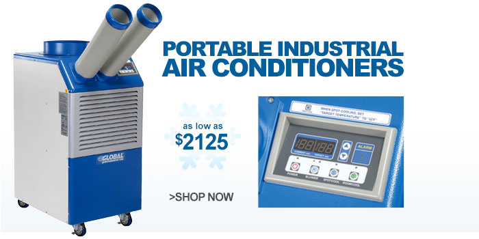 Portable Industrial Air Conditioners - as low as $2125