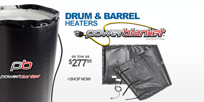 Drum & Barrel Heaters - as low as $277.95