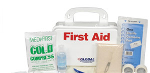 Plastic Case First Aid Kits