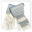Leather Palm Safety Work Gloves