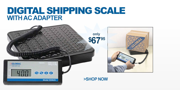 Digital Shipping Scale With AC Adapter - as low as $67.95