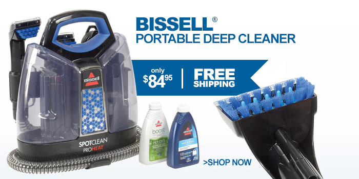 Bissell® Portable Deep Cleaner - only $84.95