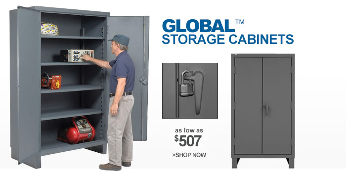 Heavy Duty 12 Gauge Storage Cabinets - as low as $507