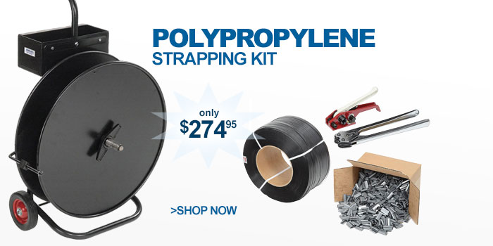 Polypropylene Strapping Kit - only $274.95