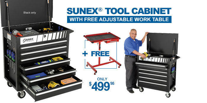 Sunex Tools Heavy Duty Tool Cabinet - only $499.95