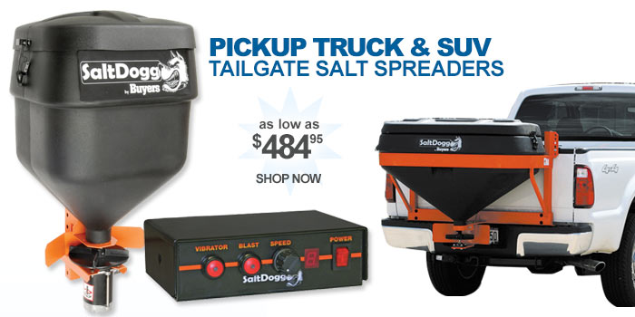 Tailgate Salt Spreaders - as low as $484.95