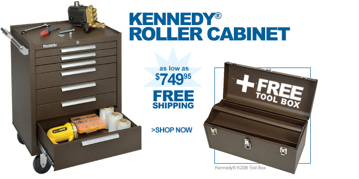 Kennedy® Roller Cabinet - as low as $749.95