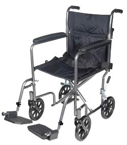 Lightweight Steel Transport Wheelchairs