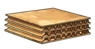 Triple-wall Corrugated Board